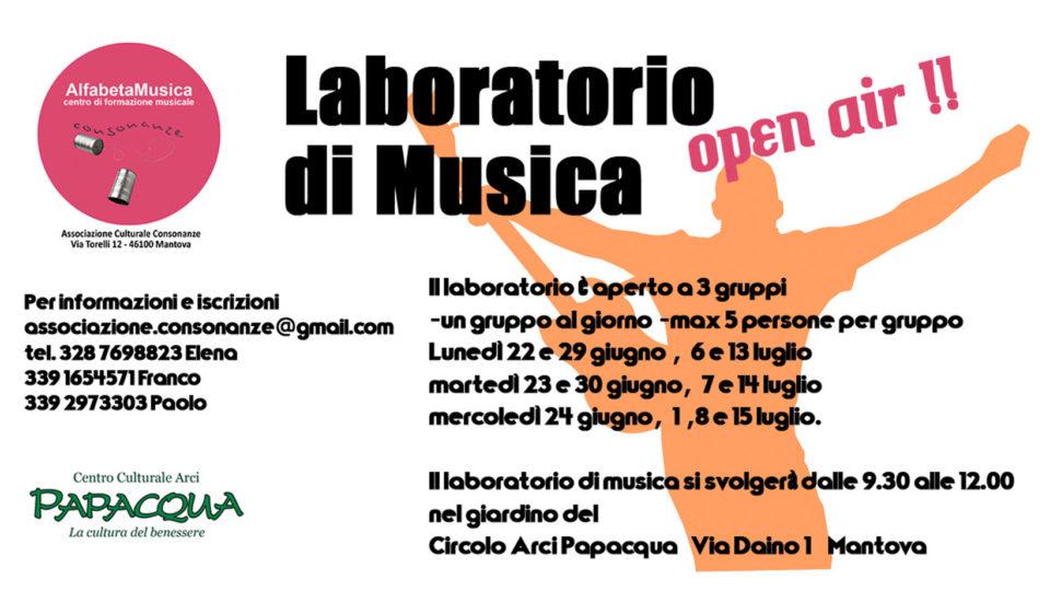 laboratorio di musica 2020 consonanze mantova
